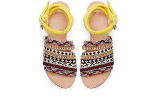 12. Ethnic sandals