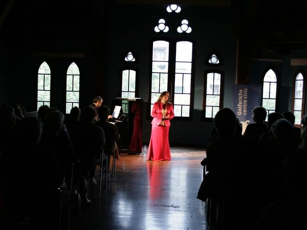 Cant i clàssica: María José Anglés
