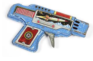 Space toy ray gun, 1960-69