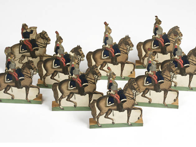 Prussian Cuirassier soldiers