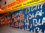 """After Hours 2: Murals on the Bowery"": Mel Bochner"