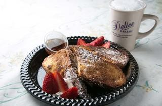 French toast at Delice Bakery