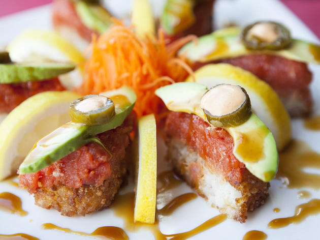 Best Kosher Restaurants In Los Angeles Meshuga 4 Sushi