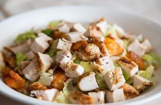 Chicken Caeser salad at Pat's Restaurant