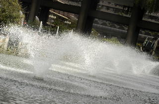 The Barbican fountains (Andrew Brackenbury / Time Out)