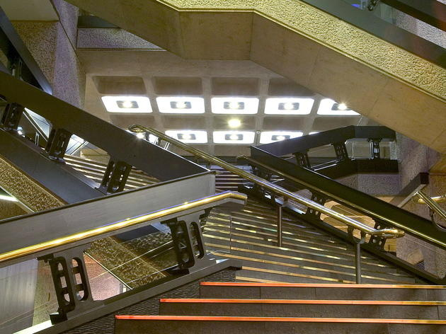 Barbican stairs (Rob Greig / Time Out)