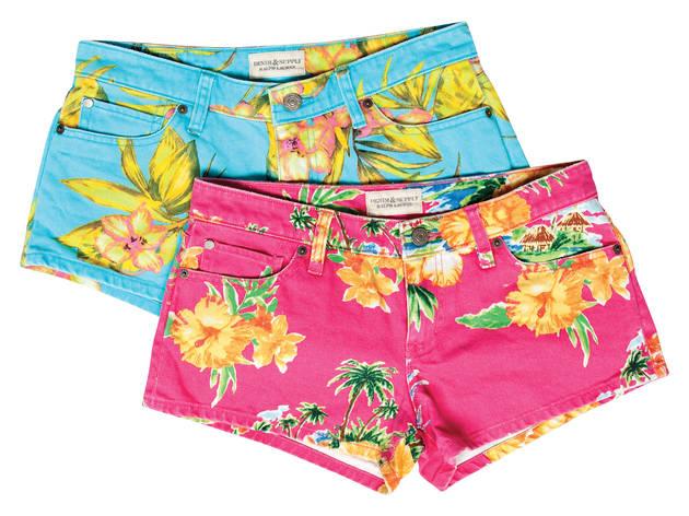 Denim & Supply Ralph Lauren floral shorts, $70 each