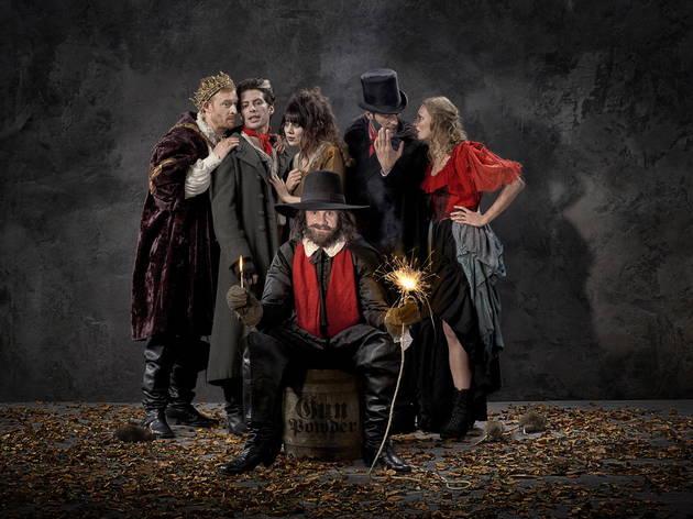 The gunpowder plot (The London Dungeon)