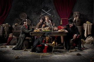 The last supper (The London Dungeon)