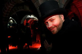 The dungeon tunnels (The London Dungeon)