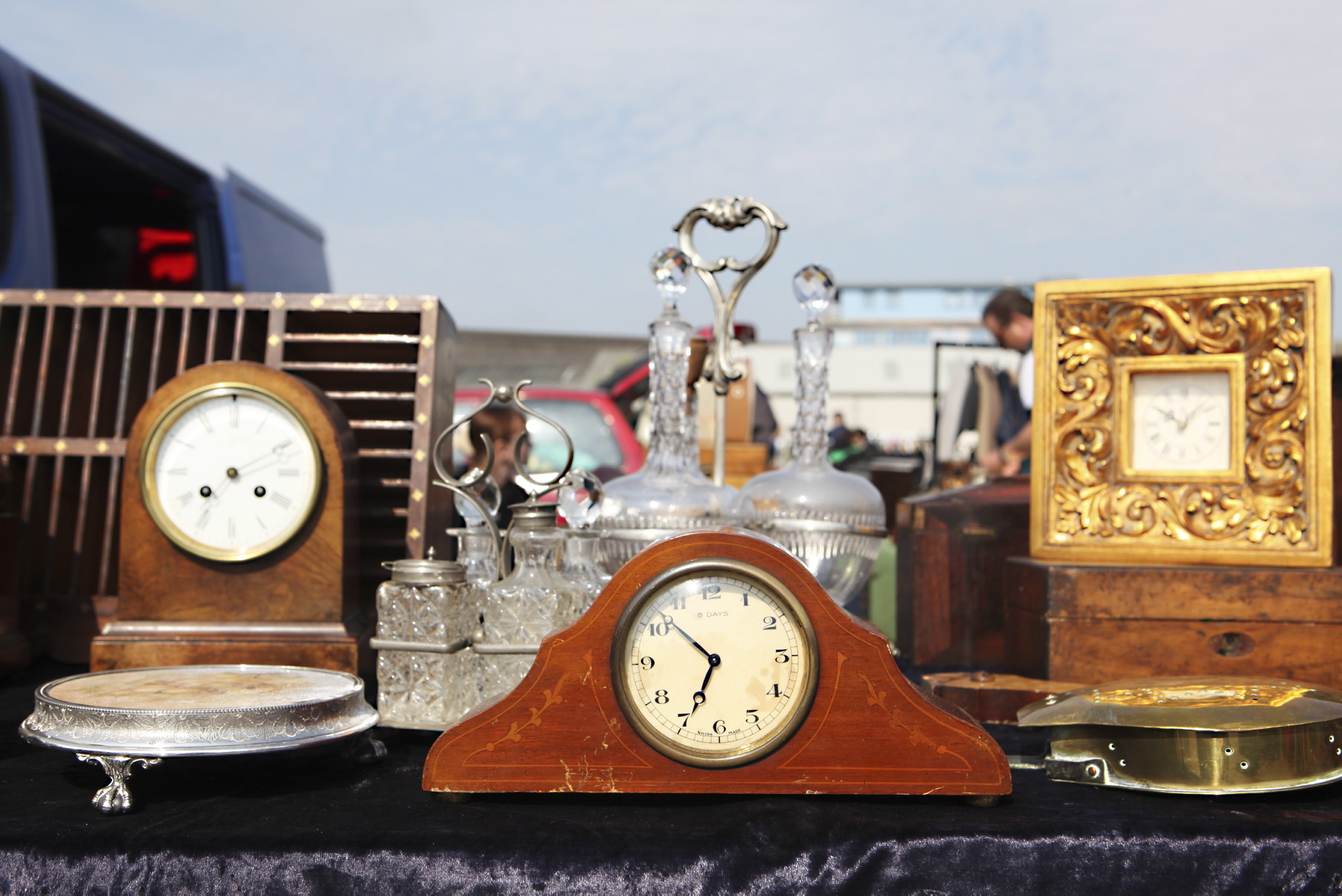 Wimbledon Car Boot clocks