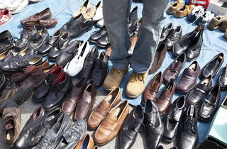 Collection of shoes (Celia Topping / Time Out)