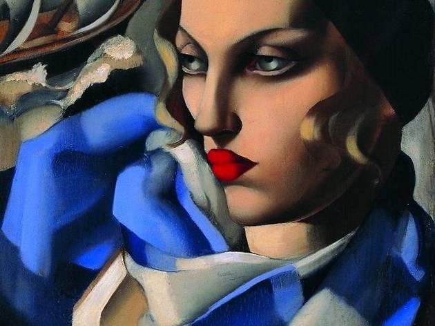 ('L'Echarpe bleue', mai 1930 / © Tamara Art Heritage / Courtesy Museum Masters International NYC / ADAGP, Paris 2013)