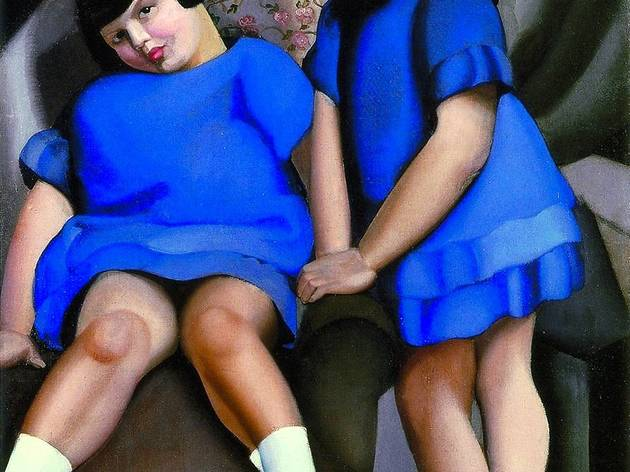 ('Deux fillettes aux rubans', 1925 / © Tamara Art Heritage / Courtesy Museum Masters International NYC / ADAGP, Paris 2013)