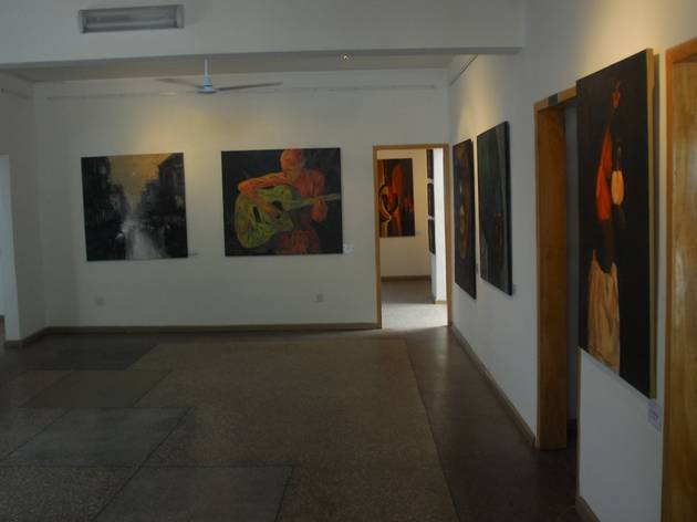 See Ghanaian art at the Nubuke Foundation