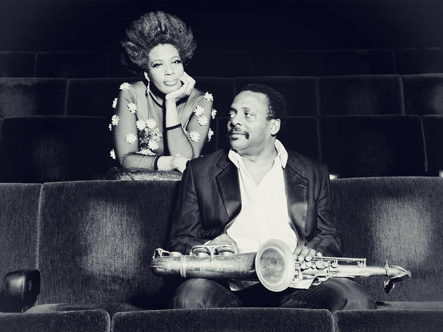 David Murray and Macy Gray