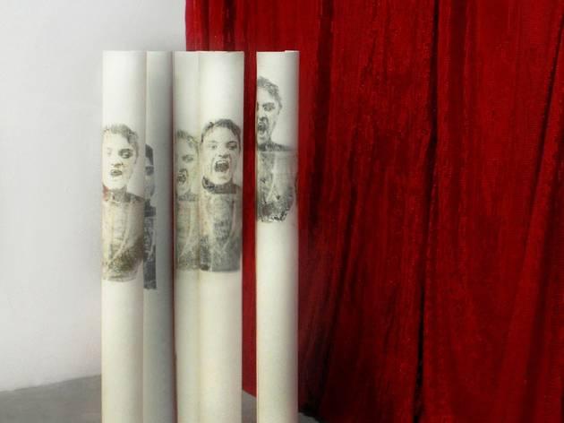 Adélaïde Feriot ('Les bâilleuses', 2010 (transfert sur papier) / © Adélaïde Feriot)