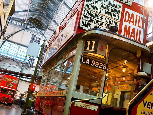 Explore: London Transport Museum