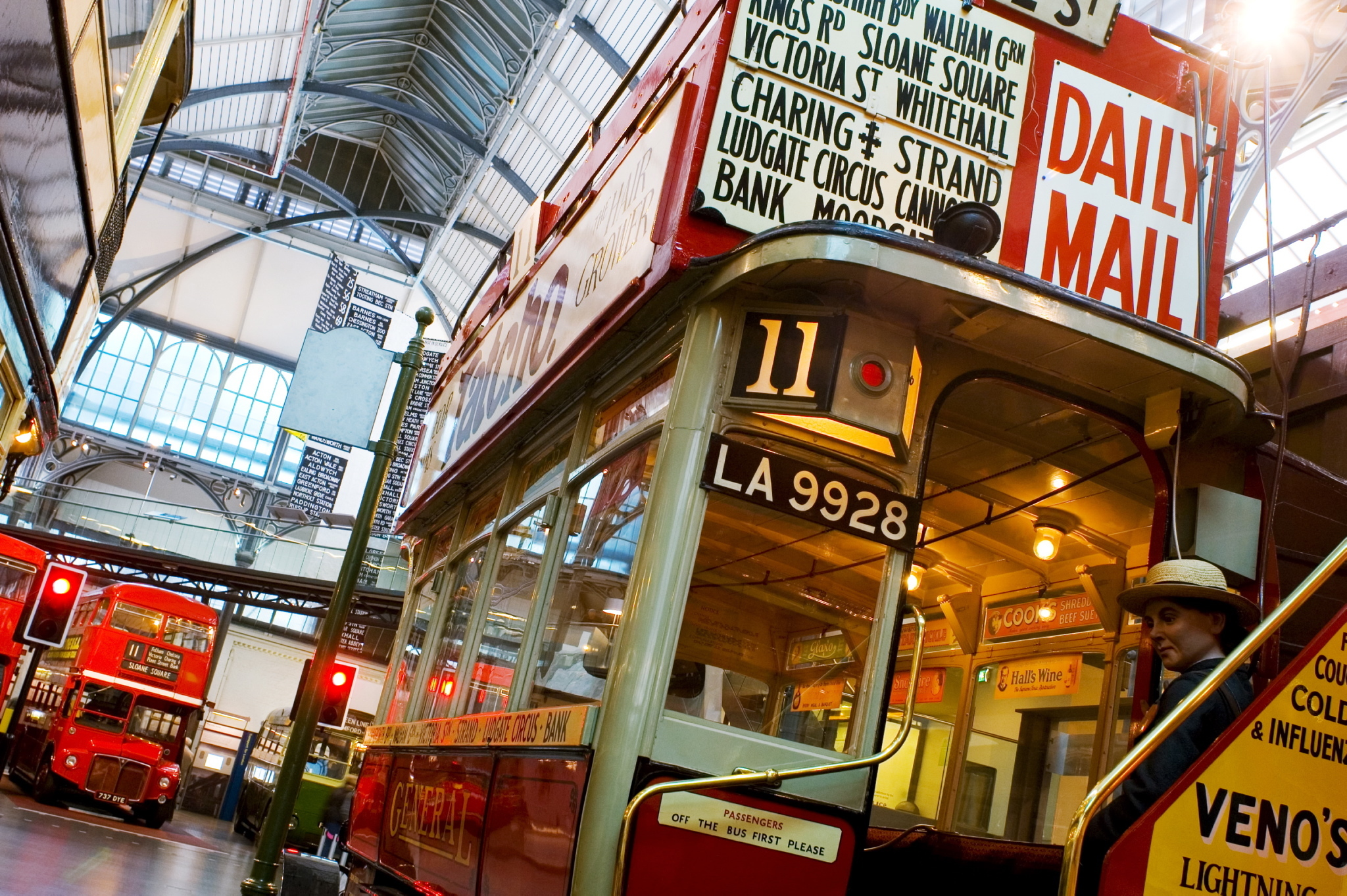 London Transport Museum buses