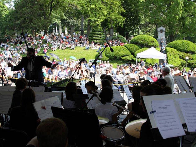 Historic Green-Wood Cemetery Memorial Day Concert