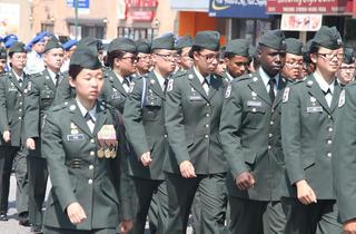 (Photograph courtesy LN-D Memorial Day Parade)