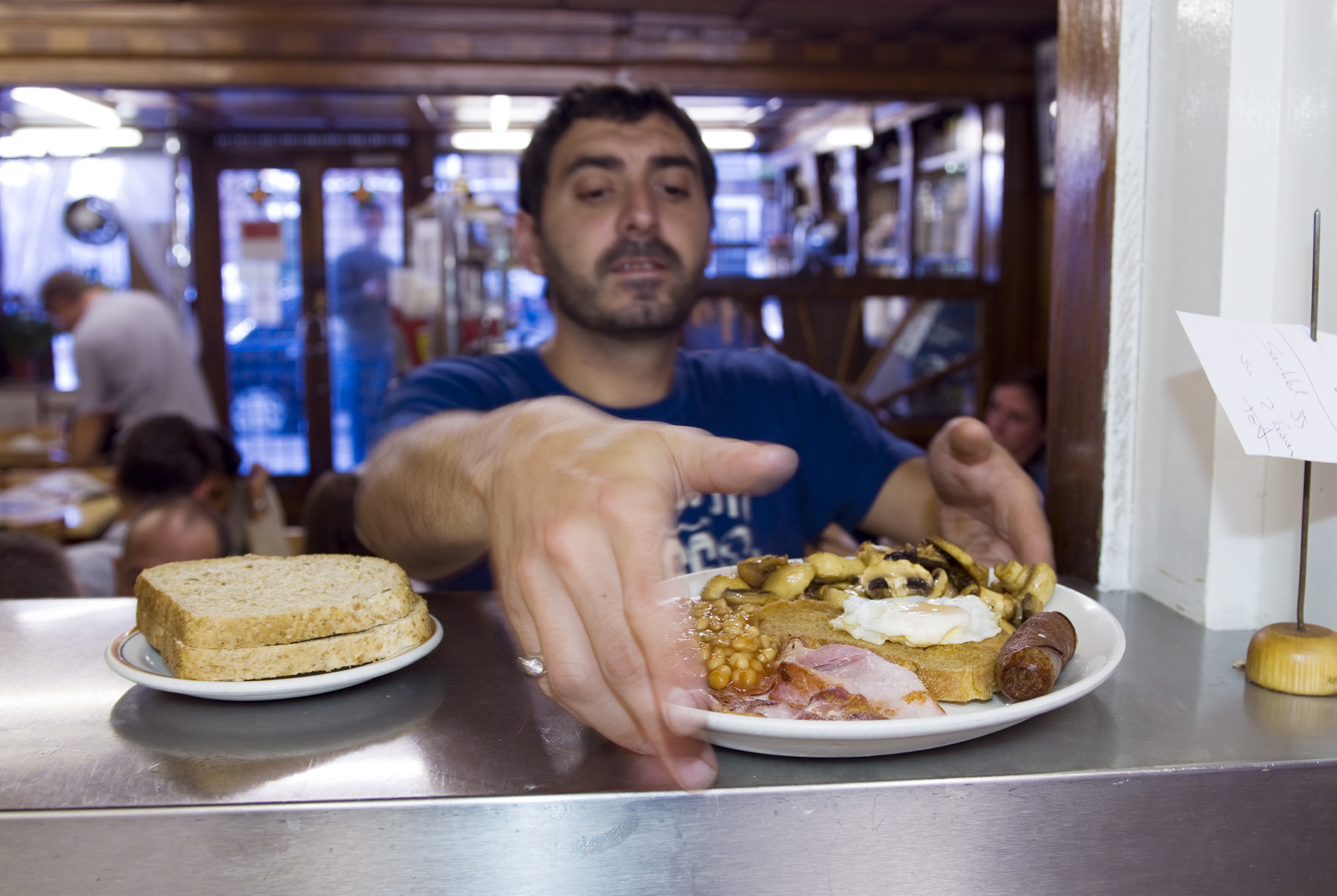 Start your day with a fry-up at E Pellicci