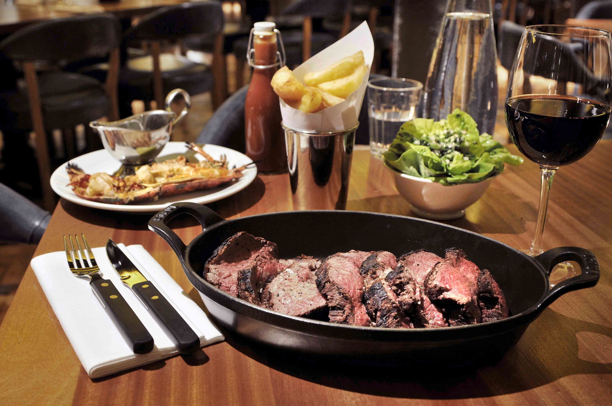 Head to Hawksmoor for a meat-lover's dinner