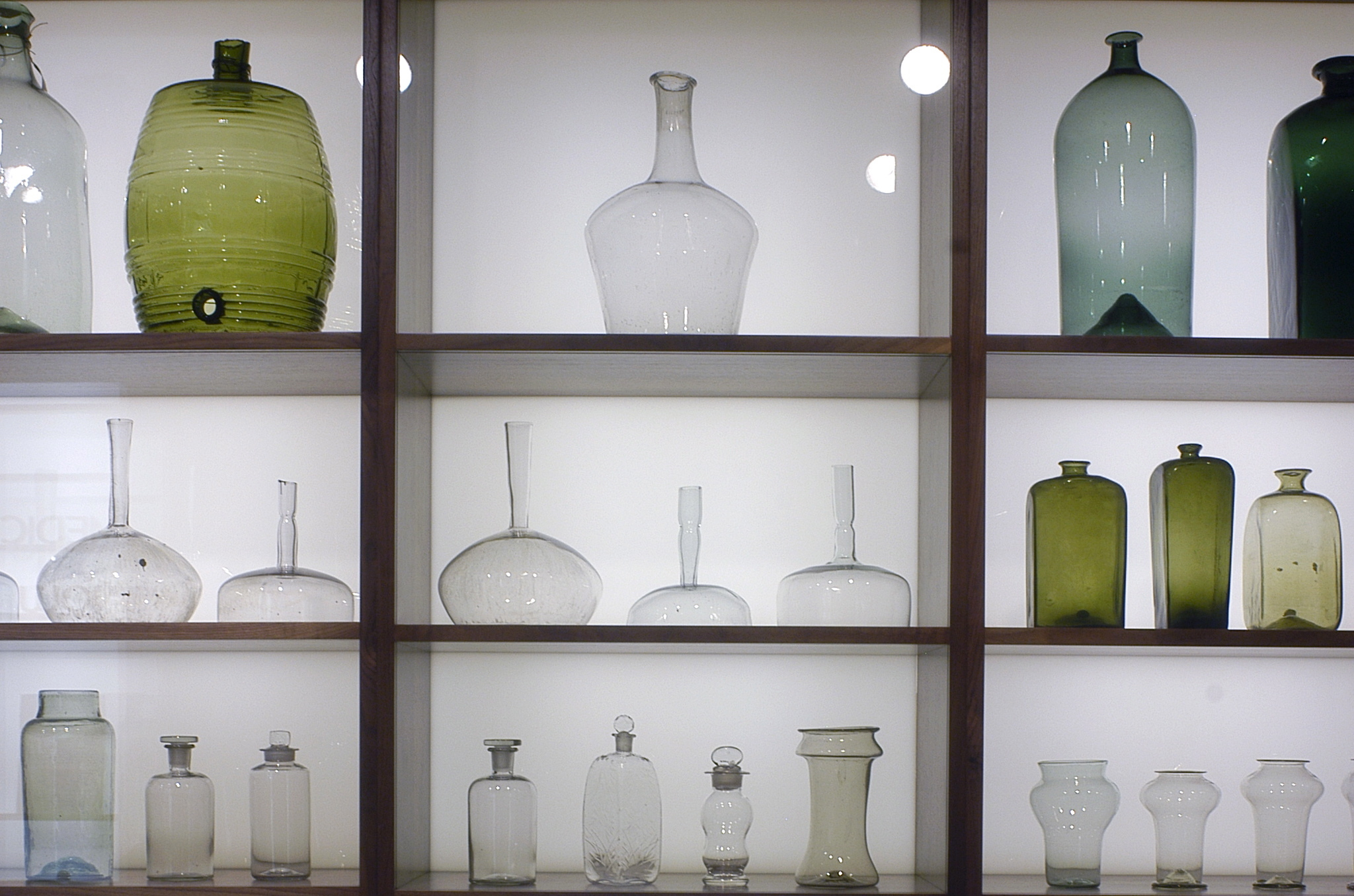 Wellcome Collection Glass bottles