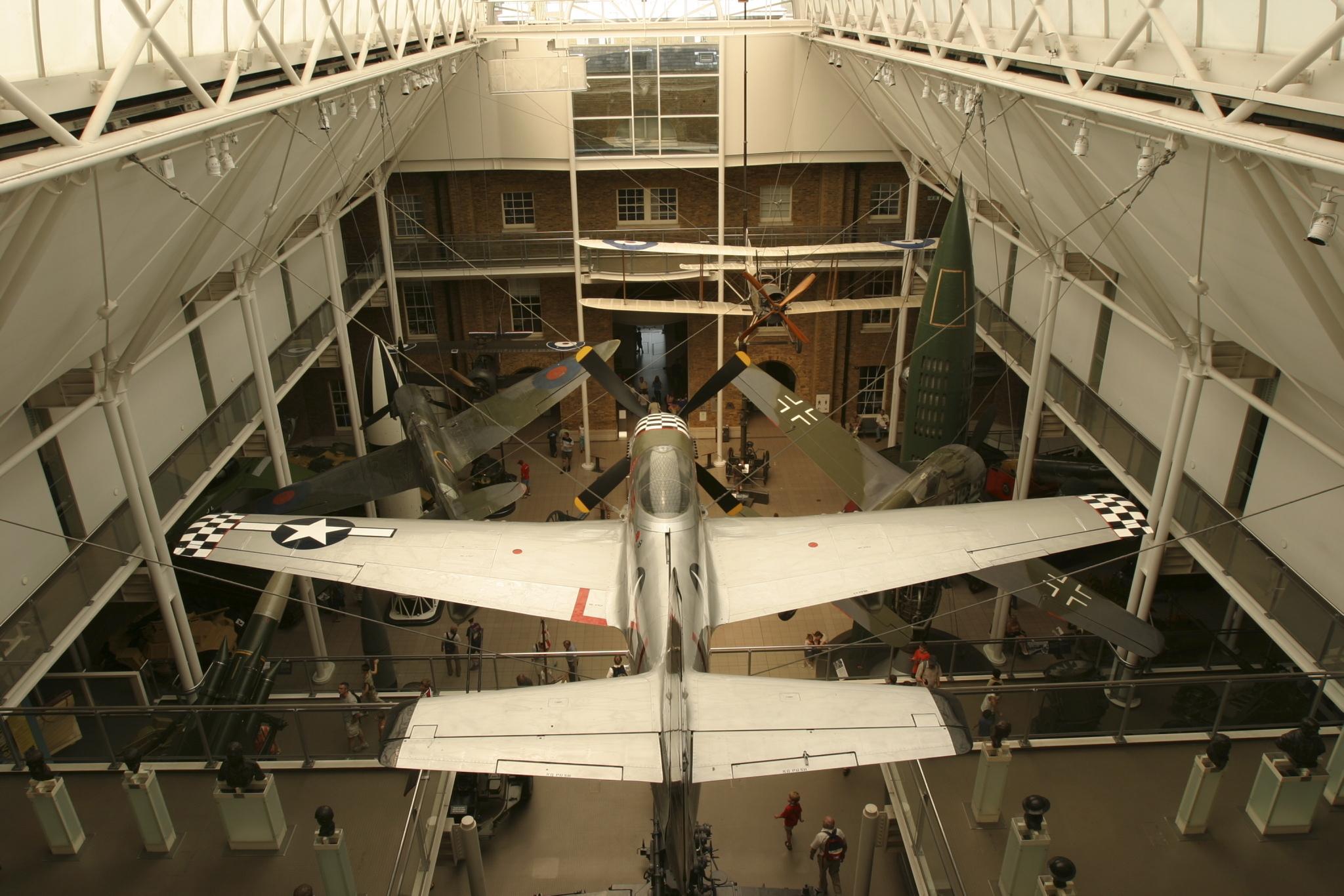 Imperial War Museum Plane