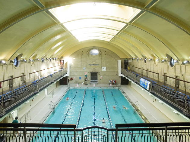 Porchester Spa Swimming Pool