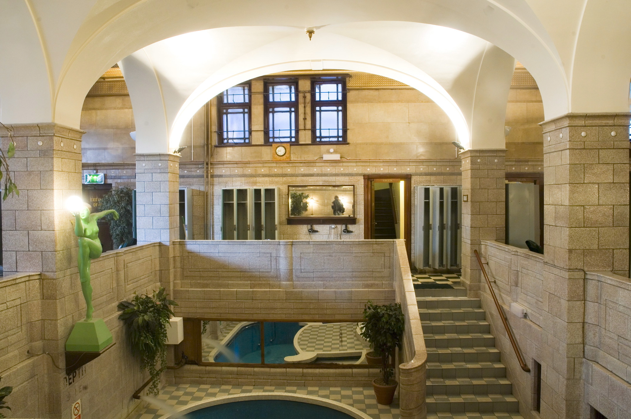 Porchester Spa interior