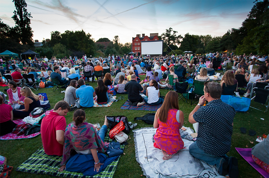 The Botanics are hosting an outdoor cinema season