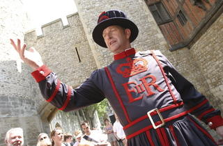 A beefeater (© Jonathan Perugia)