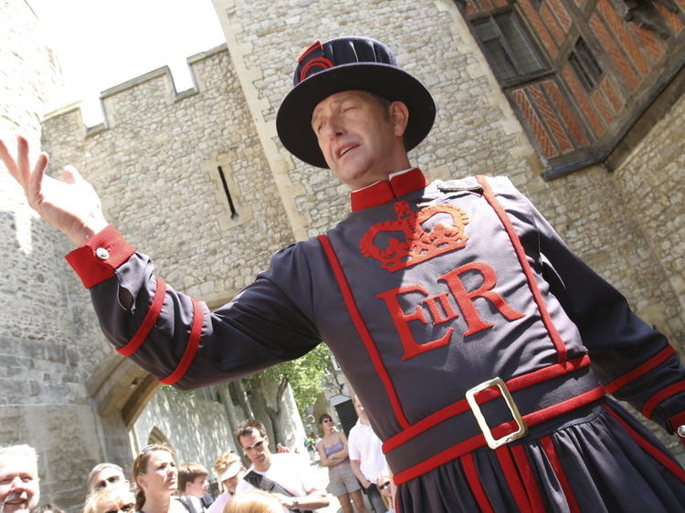 See where they chopped off heads at the Tower of London