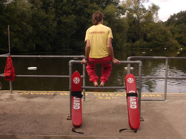 Life guard (Britta Jaschinski  / Time Out)