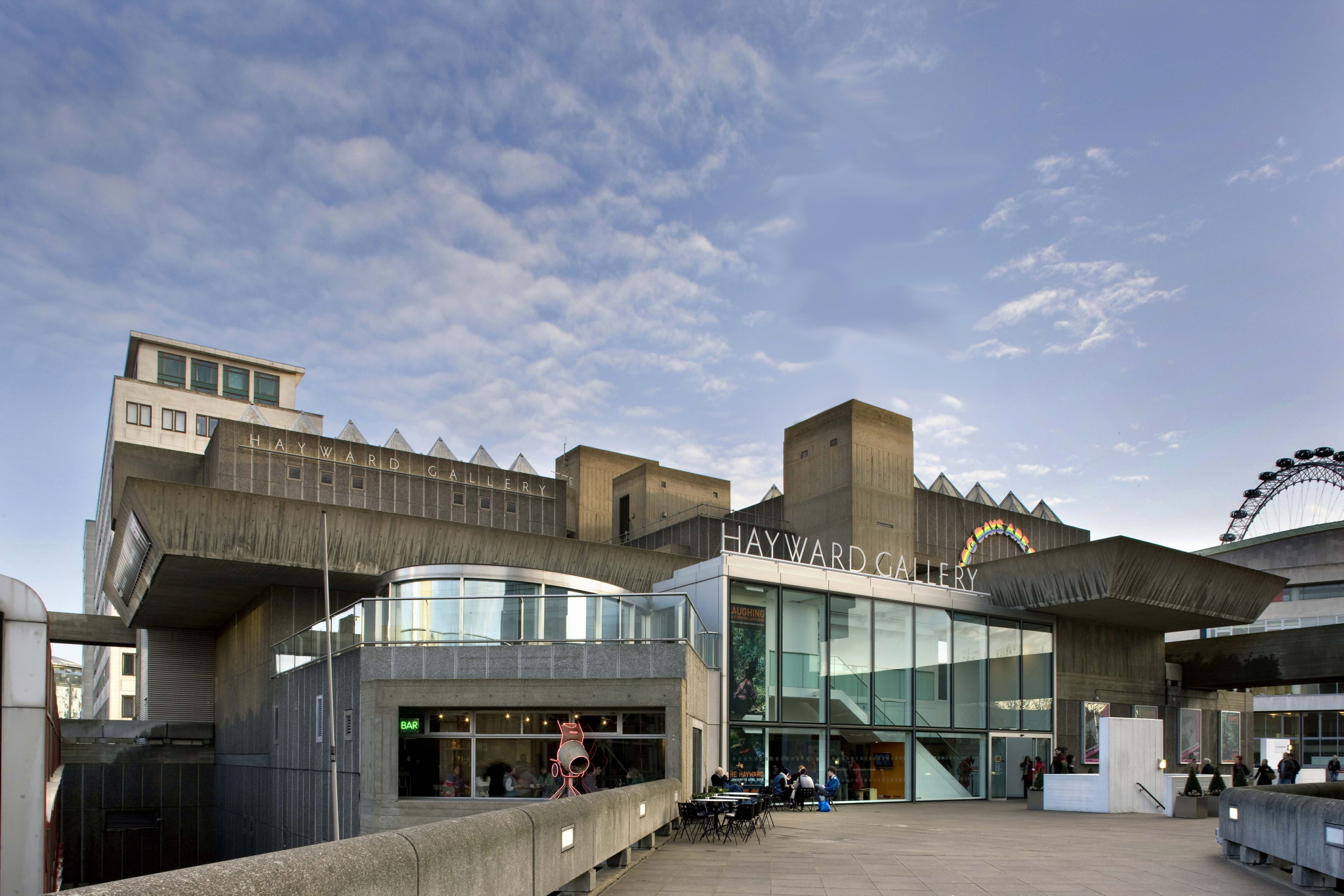 Hayward gallery entrance