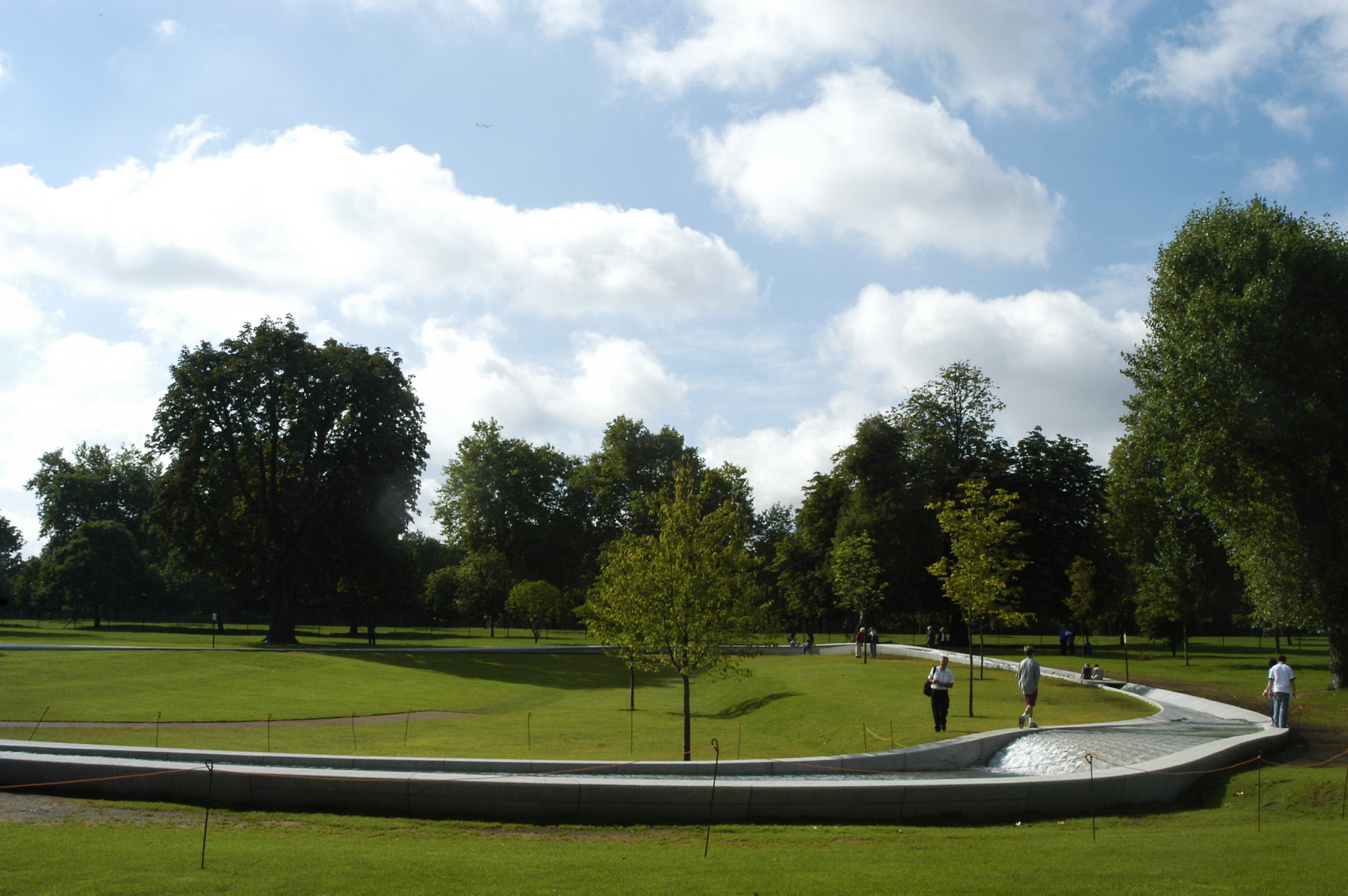 Hyde Park Princess Diana Memorial Fountain