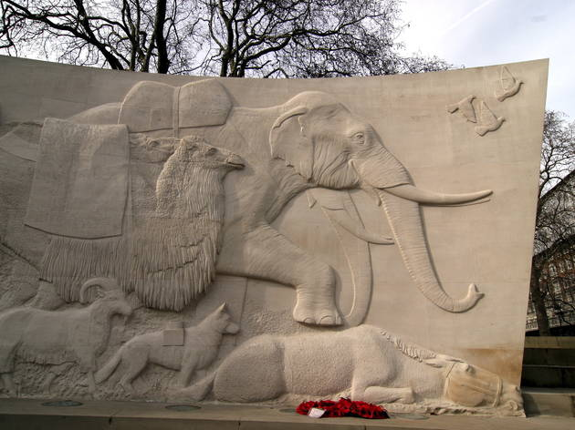 Animals in war statue (Heloise Bergman / Time Out)