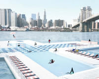 Actual possibility: A filtered, floating pool in the East River
