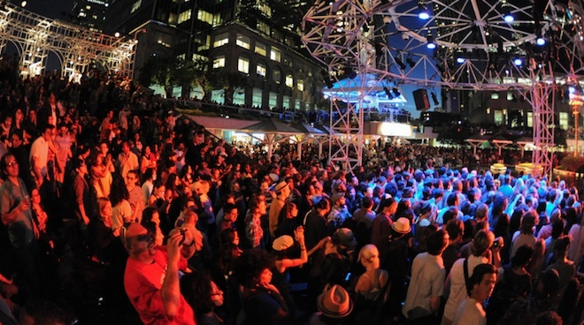 Check out a free show at Grand Performances