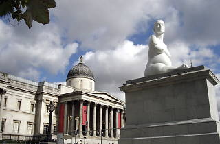 (The Fourth Plinth at The National Gallery © Abigail Lelliott / Time Out)