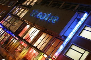 Soho Theatre entrance (Heloise Bergman / Time Out)