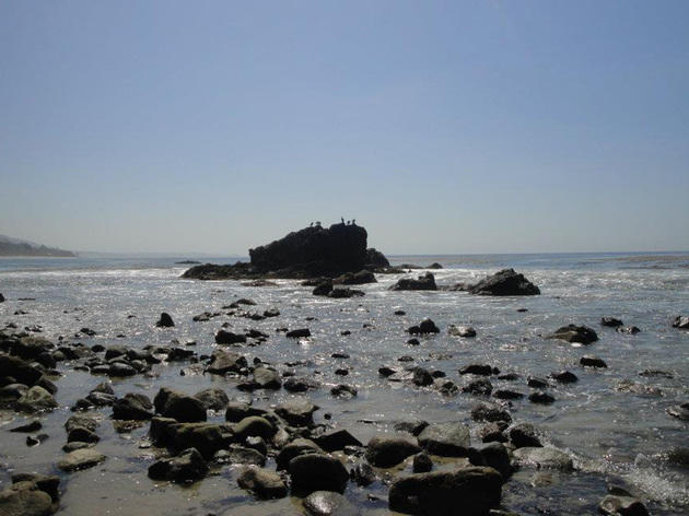 leo carrillo, malibu, beach