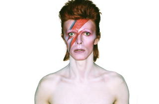 Aladdin Sane album cover (© Duffy Archive)