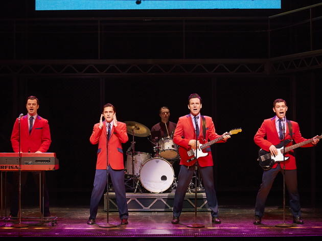 Jersey Boys Edd Post, Ryan Molloy, Jon Boydon & David McGranaghan