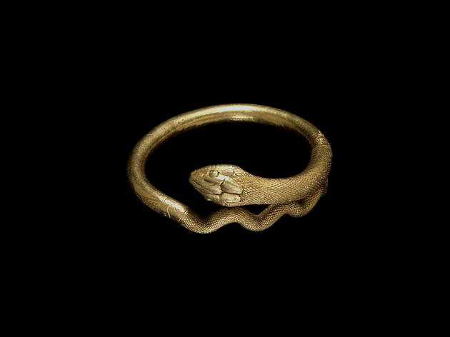 Coiled snake gold bracelet  (Trustees of the British Museum)