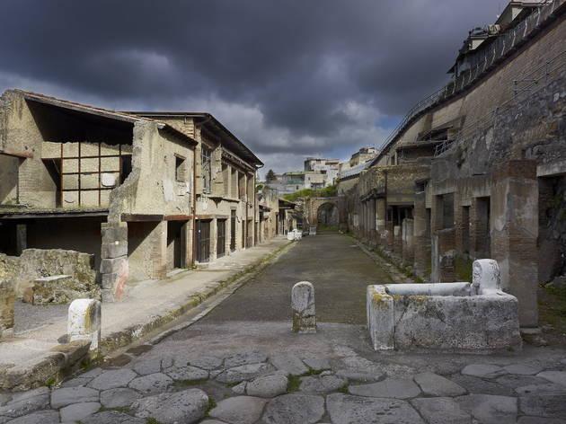 Herculaneum, Bay of Naples (Soprintendenza Speciale per i Beni Archeologici di Napoli e Pompei / Trustees of the British Museum)
