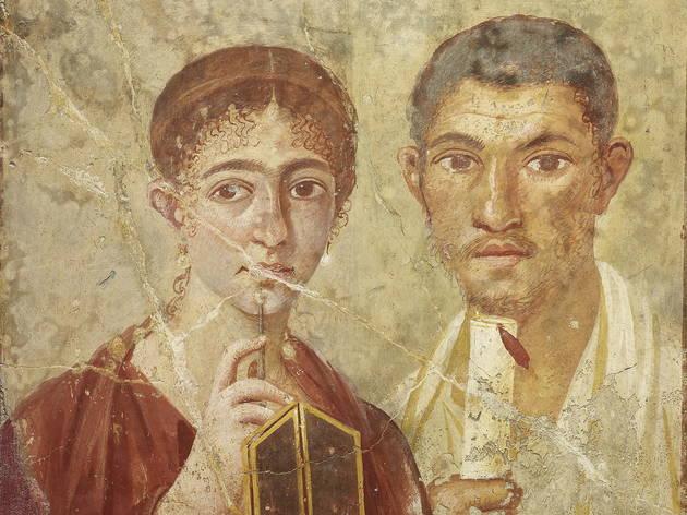 Baker Terentius Neo & wife (Soprintendenza Speciale per i Beni Archeologici di Napoli e Pompei / Trustees of the British Museum)