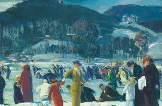 Love of Winter, 1914  (© The Art Institute of Chicago )