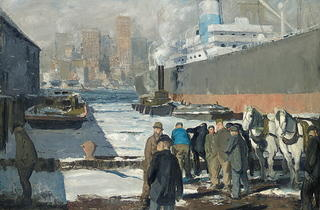 Men of the Docks, 1912  (Royal Academy of Arts)